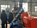 欧科楔形丝矿筛网加工设备,条缝绕丝管生产设备