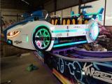 急速旋转飞车LED炫彩灯光 儿童广场游乐设备ZBL-WYPC