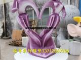 玻璃钢情侣模型雕塑 户外天长地久情侣人像工艺摆件