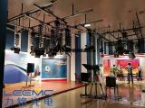 演播室LED灯光配置相比演播室三基色灯光的好处