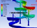 游乐设备滑梯力学分析 ANSYS有限元培训