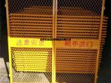 施工电梯安全防护门升降机安全门井口防护网