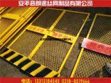 菱形网孔钢板网焊接方管安全围栏网升降机施工电梯门