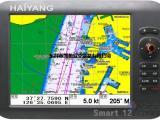 韩国进口HD-1200C 12寸彩色宽屏船用导航仪