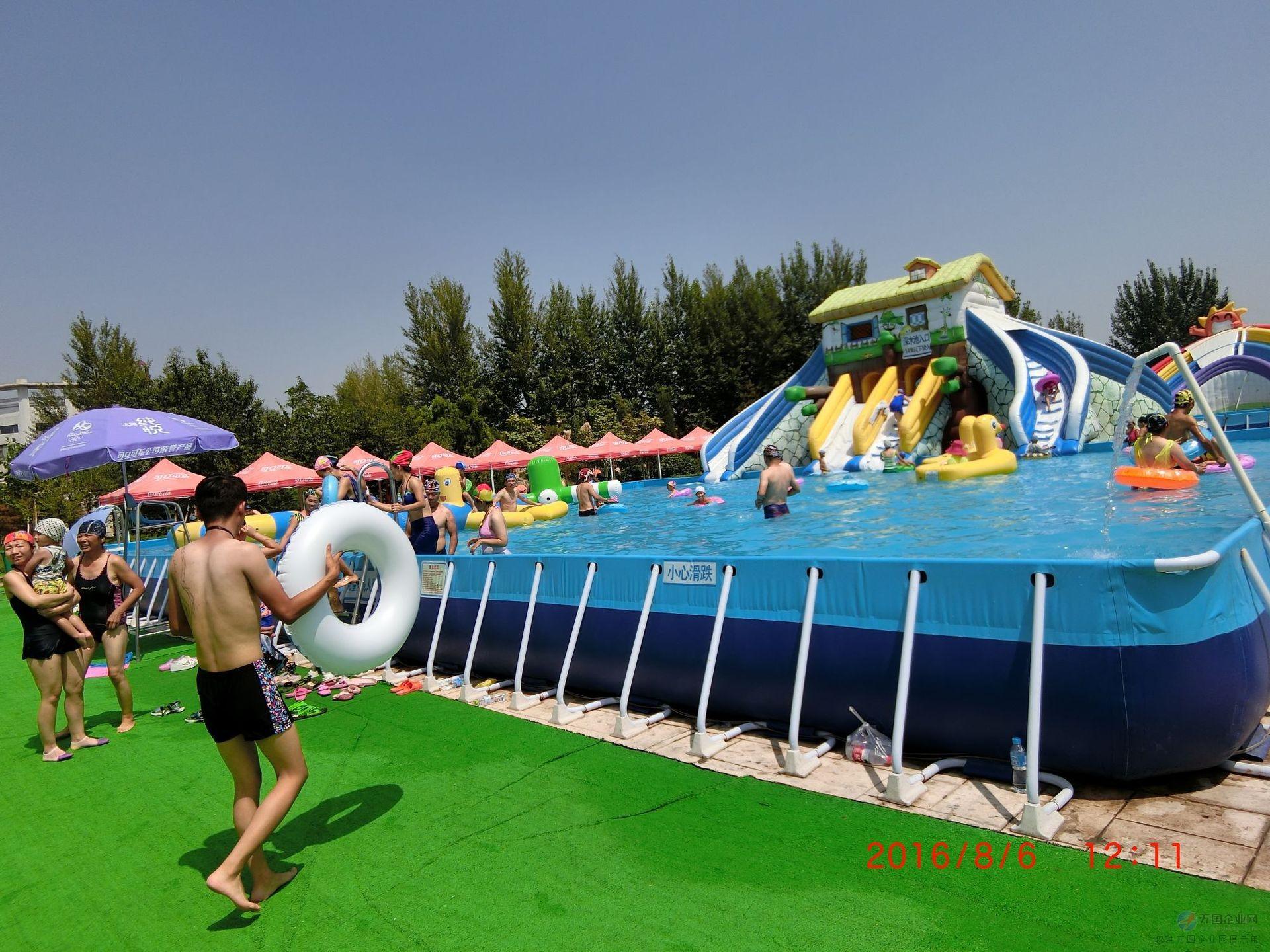 儿童水上乐园游乐设备夏大型气垫可移动性水上设备