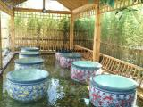 陶瓷大缸 青花洗浴大缸 泡澡缸厂家