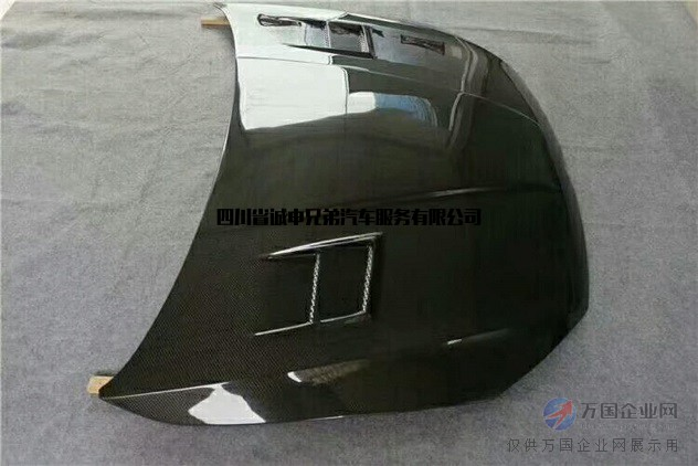 MK7 Aspec款碳纤维机盖-诚申兄弟汽车技研连锁加盟中心