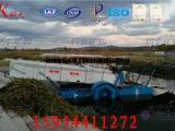 全自动水葫芦打捞船,水葫芦打捞设备价格,水面杂物清除机械