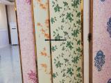 居家墙面装饰材料 绣时尚墙衣加盟