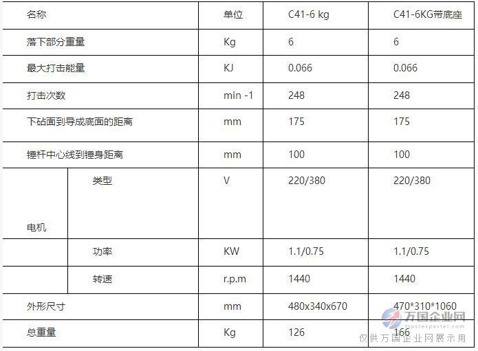 6kg技术参数
