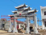 江西农村牌坊带动乡村旅游发展