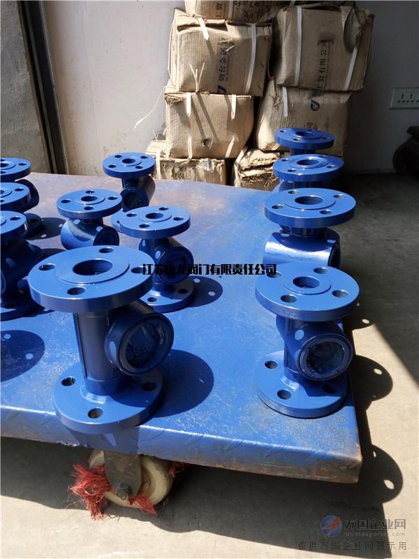 铸钢法兰叶轮指示器DN15-DN200