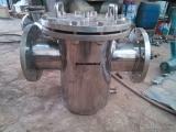 T型不锈钢篮式过滤器 法兰直通篮式过滤器 工业级过滤器