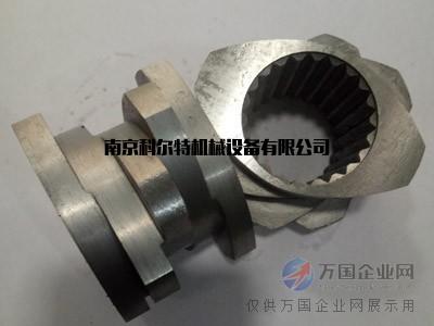 南京科尔特6542料/CR12料30度7/48双螺杆螺纹套