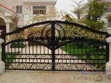 天津市专业铁艺门安装 铁艺门设计