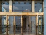 天津市安装不锈钢玻璃门 玻璃隔断门