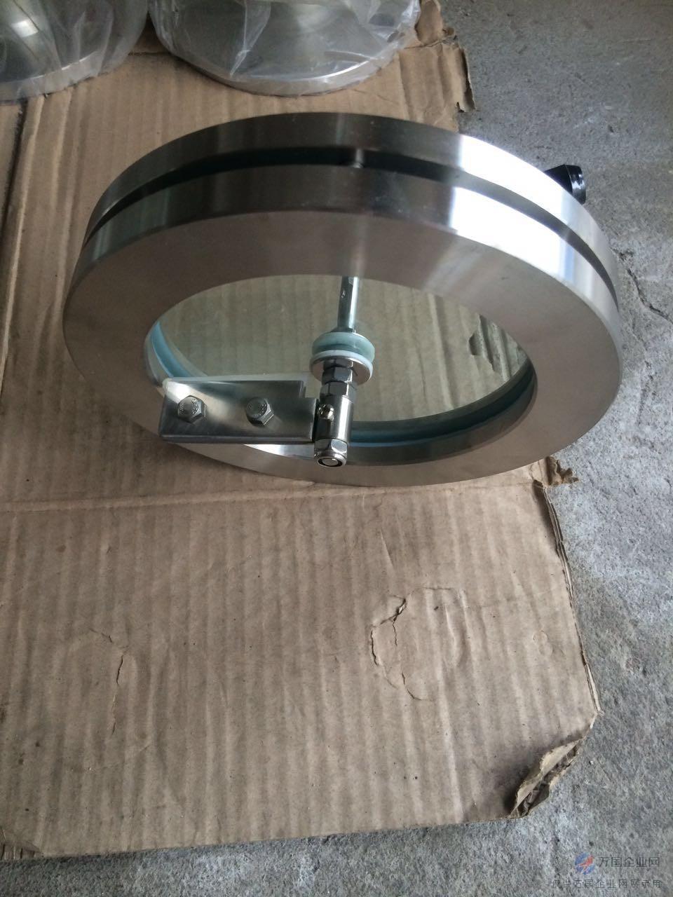 不锈钢法兰刮刀视镜1