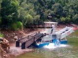 南通水草打捞船 ,水面水草清理机械,河道生活垃圾清漂船