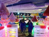 专业冰雕展雕刻团队出租冷库房冰雕设计主题乐园租赁