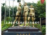 红色娘子军雕塑-豆蔻年华人物浮雕定制