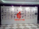 上海1X2.4米厚度4cm无缝展板墙出租安装
