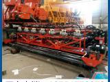 供应排阵振捣路面整平机价格 排式振动梁厂家混凝土排式振捣机