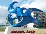 不锈钢和平鸽雕塑