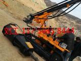 无声劈裂机用于开采基坑岩石北京