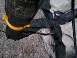 基坑开挖无声岩石分裂机