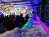 冰雕展项目出租创意冰上雕琢立体形状冰雪主题展区租赁