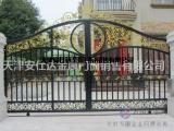 天津铁艺大门安装厂家天津定制铁艺围栏护栏