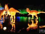 湖面上的一场梦幻灯光节震惊了所有人灯光节厂家