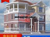 三层欧式带堂屋舒适自建别墅设计图及效果图大全D70