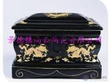 供应陶瓷殡葬用品棺材陶瓷骨灰盒陶瓷骨灰罐