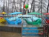 儿童新型旋转游乐设备海豚戏水