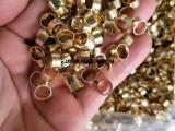 云洛现货供应6063铝管可加工切割去毛刺钻孔