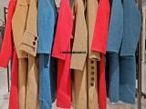 阿尔巴卡大衣品牌折扣女装一手货源批发
