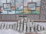 泰山石切片用作装饰的优点