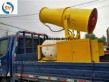 环保车配合30米移动雾炮机使用清洁城市环境
