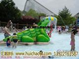 汇潮游乐儿童戏水设备,鳄鱼滑梯,戏水小品