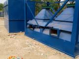 废钢破碎机除尘器烟筒设计高度8-10米排出低于排放标准空气