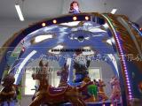儿童游乐设备之公主转马