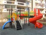 户外公园小区儿童乐园滑滑梯游乐设备厂家批发