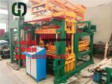 环保建筑垃圾水泥制砖机全自动彩砖机混凝土砌块成型机