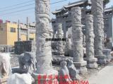 祠堂石雕龙柱制作雕刻样式图片及价格介绍