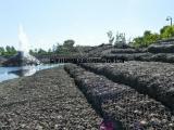 河道疏浚格宾石笼护脚@格宾网箱草皮护坡