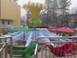 2018儿童新型旋转游乐设备海豚戏水