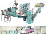XPS挤塑板生产机器、无氟CO2XPS生产线