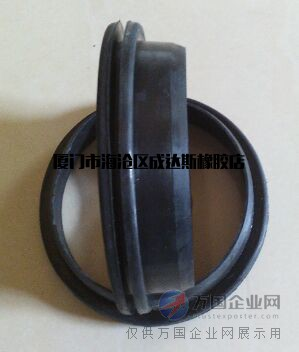 橡胶夹布雷形圈,塞活塞杆两用鼓型圈