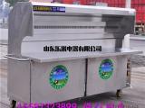 厂家销售1.8米无烟烧烤车设备环保烧烤炉